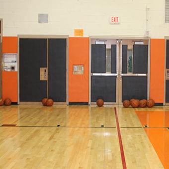Gym Wall Pads Softwall Wainscot Nutek Flooring