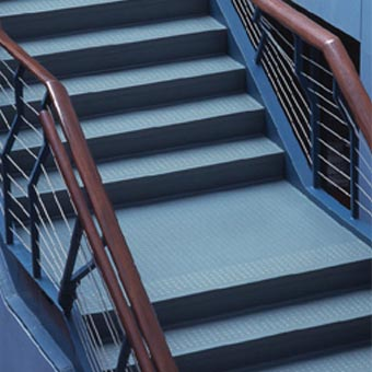 Stair Treads Commercial Grade Vinyl And Rubber Treads