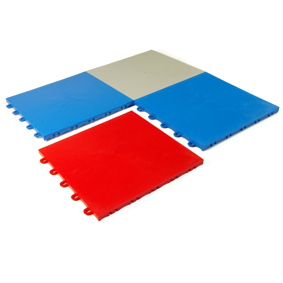 Indoor Court Tile Snap Together Modular Sports Flooring